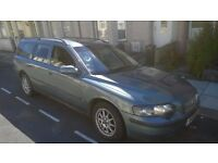 volvo v 70, diesel, estate half leather trim, 7 seater, DIESEL