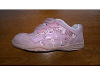 Clarks Pink Trainers Size 6