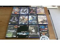 PS2 SLIM 14 GAMES GOOD CONDITION RARE GAMES TOO