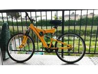Fantastic Mountain/Road Bike! Yellow. Accessories Included