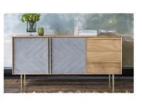 Atkin and Thyme Designer sideboard, brand new
