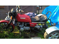 kawasaki gt550 g7 1992 hardtail trike needs registering 675 no offers at this price please