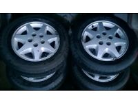 15 INCH FORD GRANADA ALLOYS - FIT FORD GALAXY
