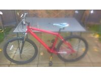 """Muddy Fox Impel 26"""" mountain bike, excellent condition, never ridden just stored."""
