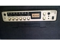 Marshall Code 50 Guitar Amp with added foot controller (o.v.n.o.)