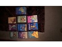 set of Young Usbourne reader books