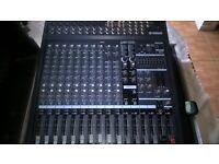 Yamaha EMX5000-12 powered mixer including flightcase