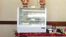 Counter top fridge cafe/bakery