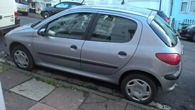 Peugeot 206 Diesel 1.4 - open to offers. (RECENTLY REDUCED)