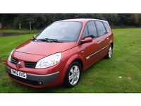 Motors cars swap sell renault grand scienic dynamique 7 seater low miles 58k s/history years mot