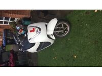 Sym allo 125cc moped. Vespa. Great condition. Bargain