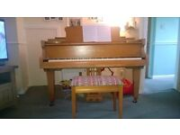 Monington & Weston Baby Grand Piano