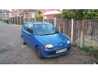 Fiat Seicento 899cc spares or repair