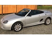 MG CONVERTIBLE SOFT TOP SILVER GREY