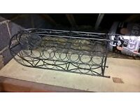 Wine rack , 23 bottle capacity,