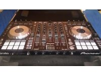 Pioneer DDJ-SX2 DJ Controller and Magma Pioneer Workstation