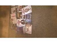 assortment of books for sale £20 the lot