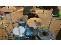 Mapex IV drum kit natal snare cymbals and hardware