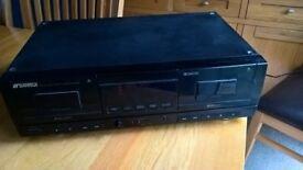 Sansui D-X510WR Twin Cassette Deck