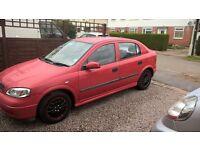 Vauxhall Astra 1.4 l mot til December £300 ono