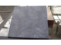 11 Unused Slate Grey Floor Tiles Bathroom Kitchen Toilet 1 Square Metre + 1