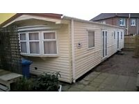 Caravan to let for NW200 week. Located on the racecourse