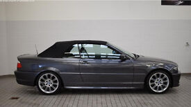 ***BMW 318I M SPORT CABRIOLET***SUMMER IS HERE*** 2006 ***ONLY 24,500 GENUINE MILES***