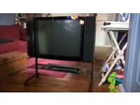 bang and Olufsen LS5500 TV and stand plus DVD player and remote