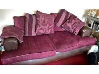 Sofa in need of TLC