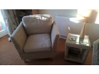Conservatory Furniture Marks and Spencer Bermuda Range -2 chairs + side table, as new.