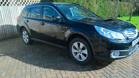Subaru Outback 2.0D S 2012 Excellent Condition, FSH, 12m MOT, Towbar, Tinted rear windows.