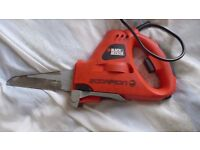 Black & Decker Scorpion Electric Saw. Used, but in full working order.