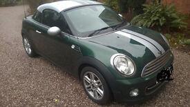 Mini Coupe 1600 semi Automatic British racing green metallic