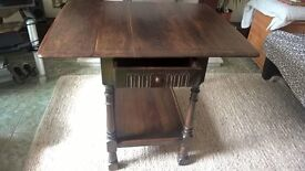 vintage small side /console table