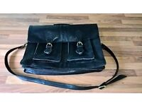 Ladies Real Leather Satchel (Goof for Working Office use)