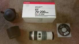 Cannon EF 70-200mm f/4L IS USM Camera Lens