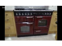 Ex-display Rangemaster CDL110DFFCR/C Classic Deluxe 110cm - Dual Fuel Range Cooker ***REDUCED***