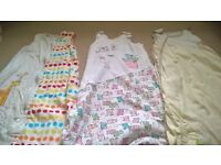 baby sleeping bags 6-18 months x3