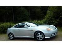 Hyundai coupe 2.0l. Mot next year.