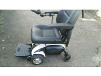 powerchair with elevating seat ( van Os travelux Ventura).