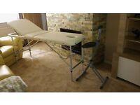 Massage Table & Stool