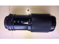 Canon FD 70 - 210mm Macro Zoom lens & Kalimar 2 x Teleconverter
