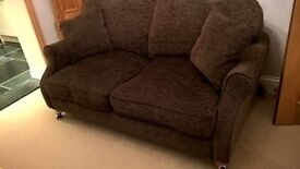 Two brown Sofas