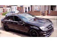 2009 MERCEDES BENZ 2.1 C CLASS C220 AMG SPORT C63 LOOKALIKE/REPLICA 77456K MILEAGE