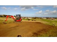 ANTONY HOLMES MINI DIGGER /EXCAVATOR FOR HIRE WITH EXPERIENCE OWNER OPERATOR