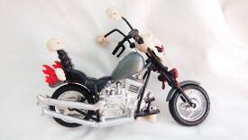 Hulk Hogan Hollywood 1999 motor cycle