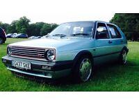 VW golf gti 1.8 8v mk2 not mk1 mk3 mk4 vr6 20v turbo r32