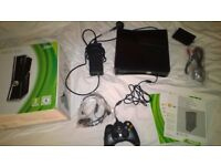 XBOX slim + 250 GB hard drive, wireless control - HDMI