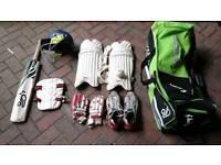 Boys Kookaburra Cricket Equipment