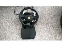 Thrustmaster Ferrari 458 RW Xbox 360 steering wheel and pedals